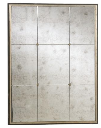 The massive Rosette Wall Mirror ($479) can accomplish the same effect in your home.