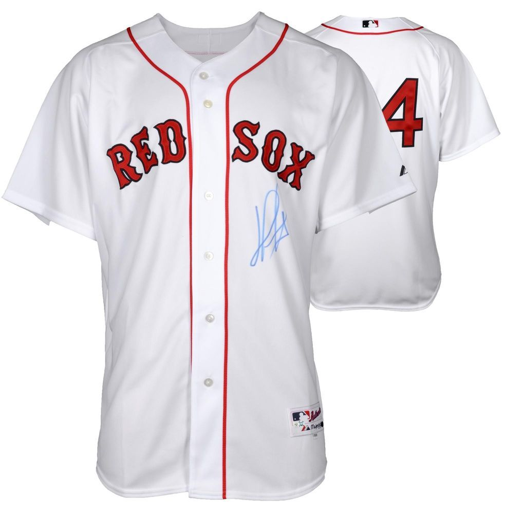 huge discount 6d4ba 434eb David Ortiz Signed Red Sox Authentic Jersey | Autographed ...