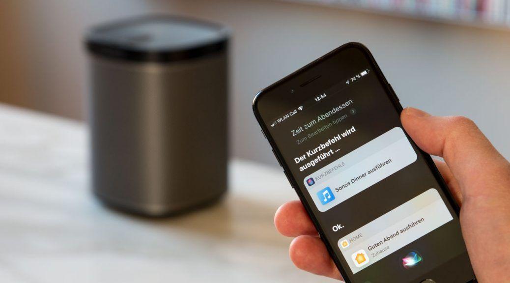 Sonos Mit Siri Kurzbefehlen Steuern So Geht S C Digitalzimmer Sonos Kurzer Lautsprecher