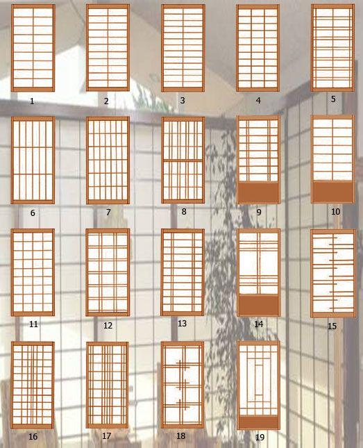 Dise os modelos de puertas correderas chinese style - Puertas correderas japonesas ...