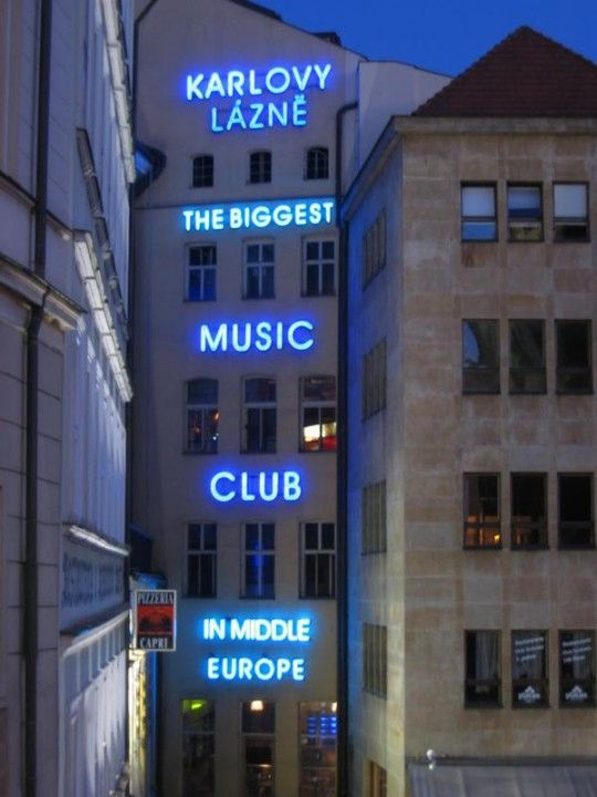 karlovy lazne, night club, prag | Prague, Europe, Central