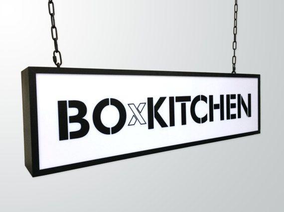 Cinema Light box custom text or logo  Light Box custom sign