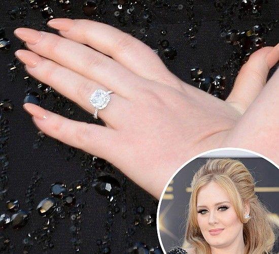 Adele Engagement Rings Google Haku Celebrity Nails Manicure Celebrity Manicures