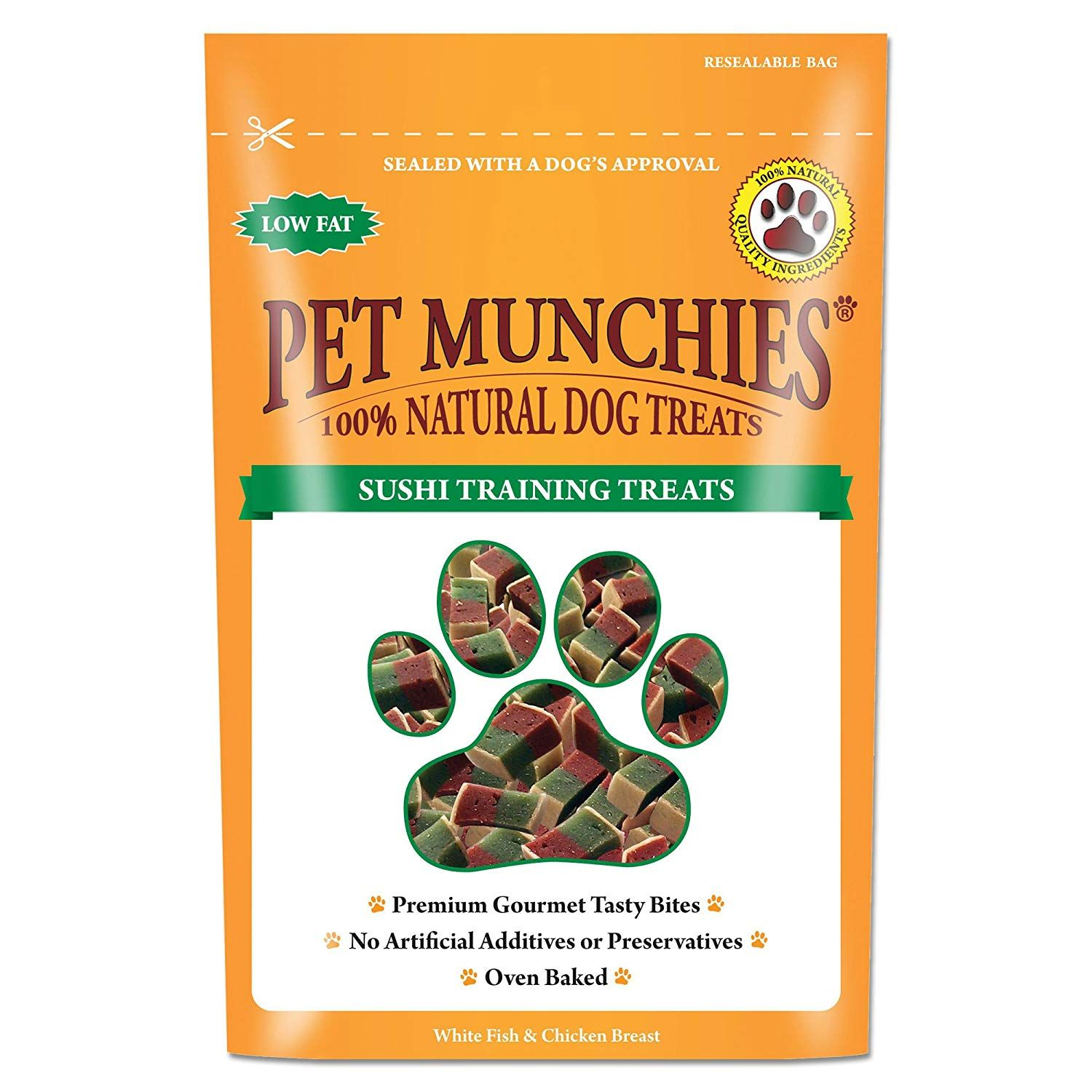 Pet Munchies Sushi Training Treat Pack Of 8 More Info Could