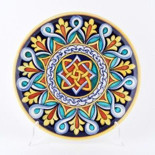 <p>Francesca+Niccacci's+geometric+designs+are+a+unique+blend+of+intricate+patterns+and+richly+shaded+colors.<br+/>Entirely+handmade+and+hand+painted,+Niccacci's+geometric+serving+bowls+and+platters+are+artful+interpreters+of+the+Italian+ceramic+heritage+at+its+best.<br+/>They+can+be+mixed+and+matched+to+create+unique+serving+sets,+an+ideal+complement+to+solid+color+dinnerware+or+to+Niccacci's+handmade+dinnerware,+available+on+Special+Order.+<a+href=mailto:info@thatsarte.com...