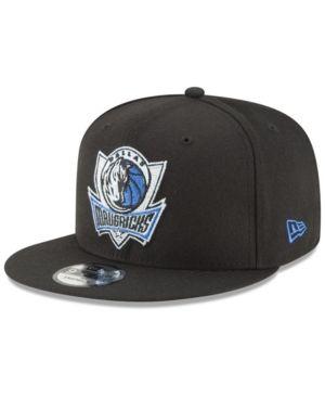 new products 59a33 95486 New Era Dallas Mavericks Team Metallic 9FIFTY Snapback Cap - Black  Adjustable