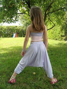 Baby girl harem pants pattern/ PDF/ Abigail baggy