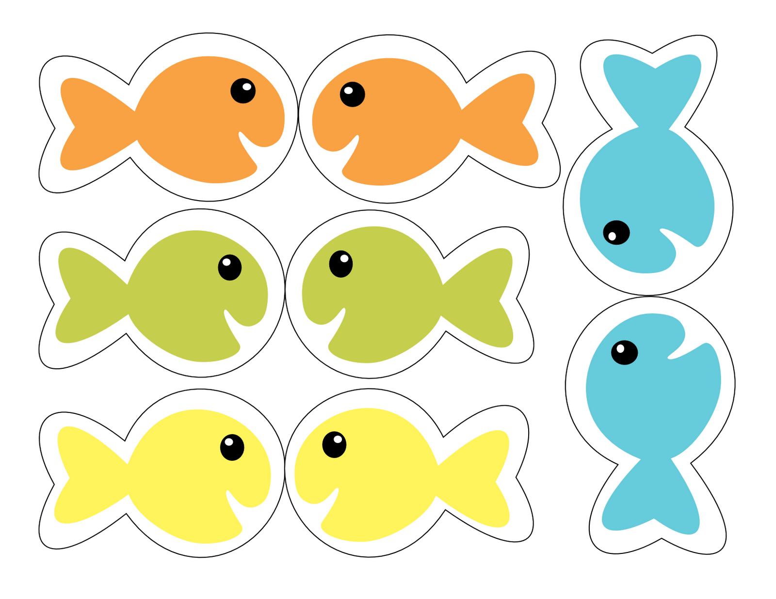 Innovative Preschool Fish Template Printable Free Toddler