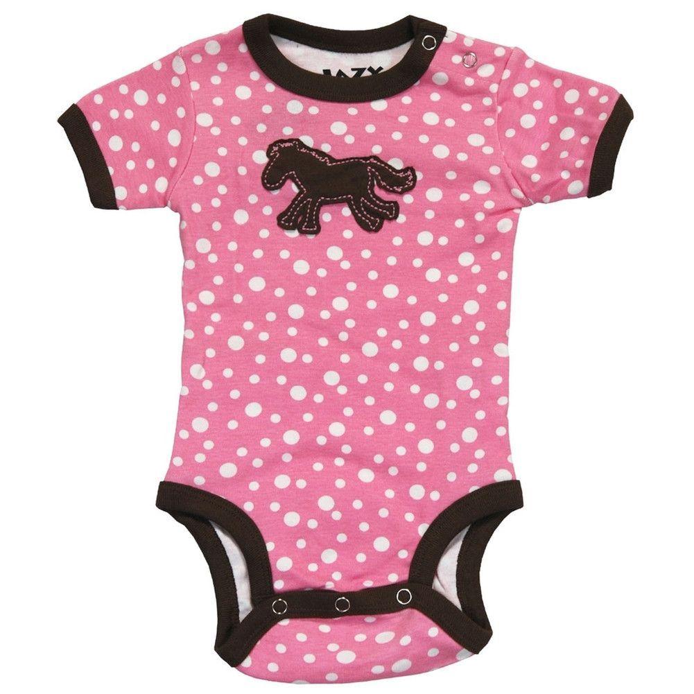Lazy One Infant Girls Creeper One piece Born to be Wild Zebra Pink