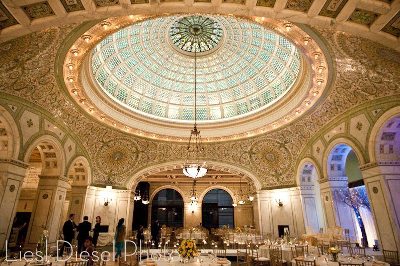 Chicago Cultural Center Wedding Ldp Chicago Cultural Center Wedding Chicago Cultural Center Chicago Wedding Venues