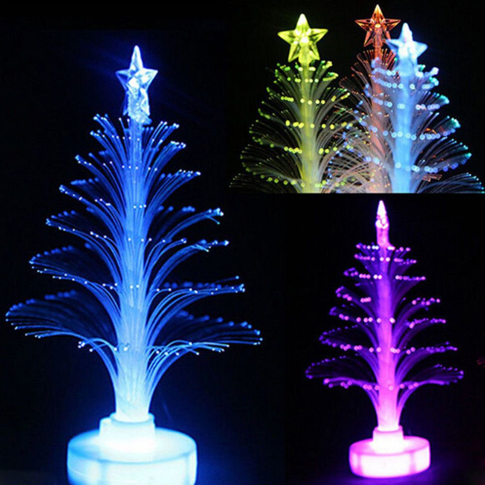 Led Lamp Christmas Tree Home Light Color Changing Party Xmas Decoration Stand Christmas Tree Night Light Decorating With Christmas Lights Led Christmas Tree