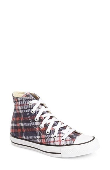 97dedcfd014 Free shipping and returns on Converse Chuck Taylor® All Star® Plaid High Top  Sneaker (Women) at Nordstrom.com. Classic plaid heightens the old-school ...
