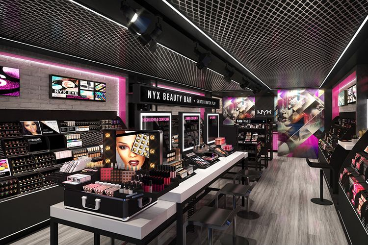 NYX Cosmetics Plans CanadaWide Store Expansion Cosmetic