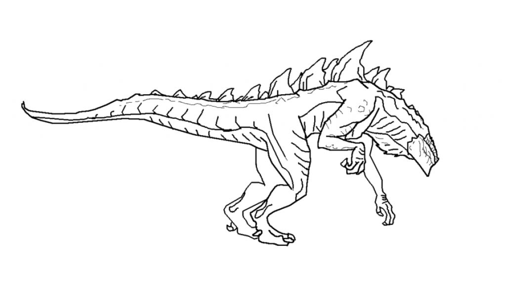 godzilla coloring pages - photo#31