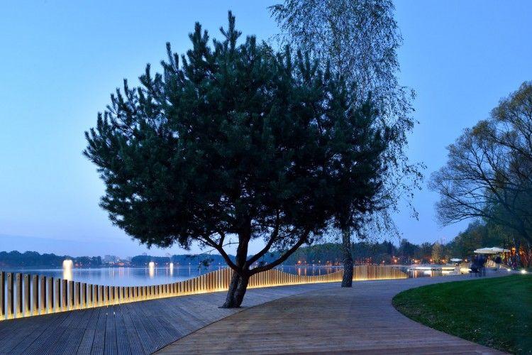 Zagospodarowanie wschodniego nabrzeża Paprocan w Tychach Pracownia: RS+ Robert Skitek / Zdjęcia: Tomasz Zakrzewski