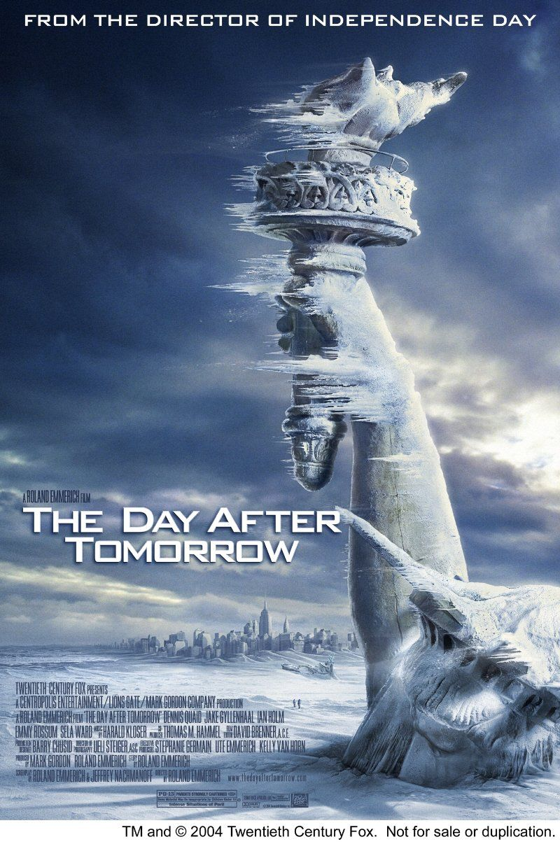 The Day After Tomorrow 2004 Streaming Movies Good Movies Movie Posters