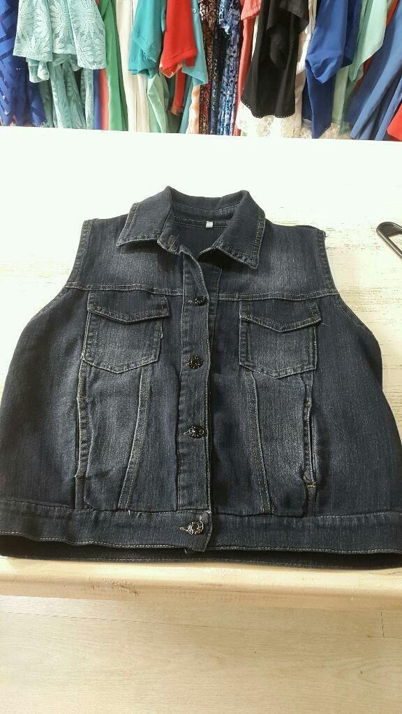 ¡Mirá nuestro nuevo producto Chaleco de Jean ! Si te gusta podés ayudarnos pinéandolo en alguno de tus tableros :)