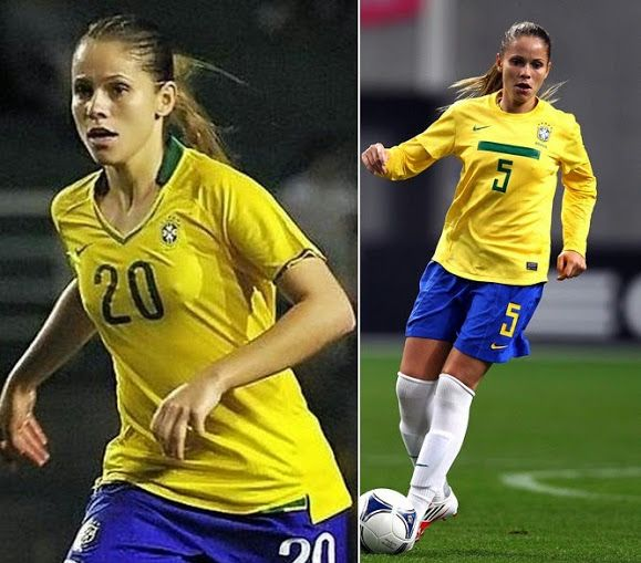 24 Hottest Women Footballers 2015 Fifa World Cup In 2020 Female Soccer Players Fifa Football Women