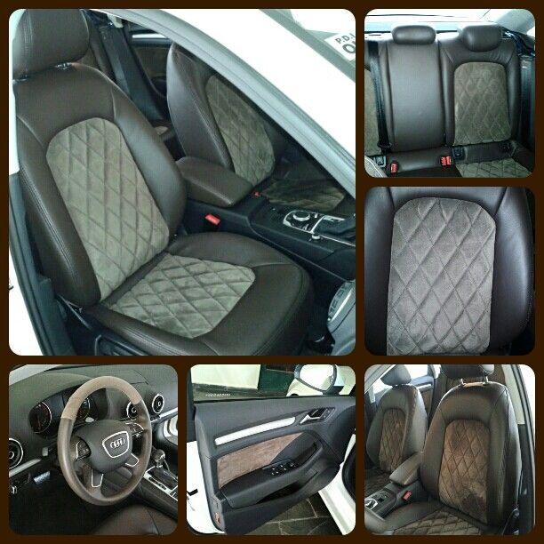 Couro Audi A3 Sedan Com Imagens Audi A3 Audi Banco De Couro