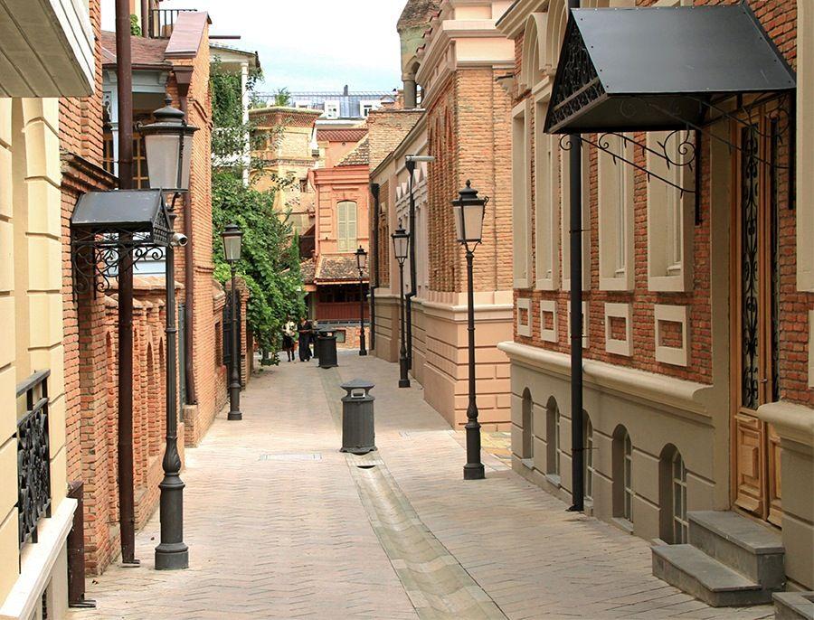 შავთელის ქუჩა Shavtheli Str Tbilisi Georgia