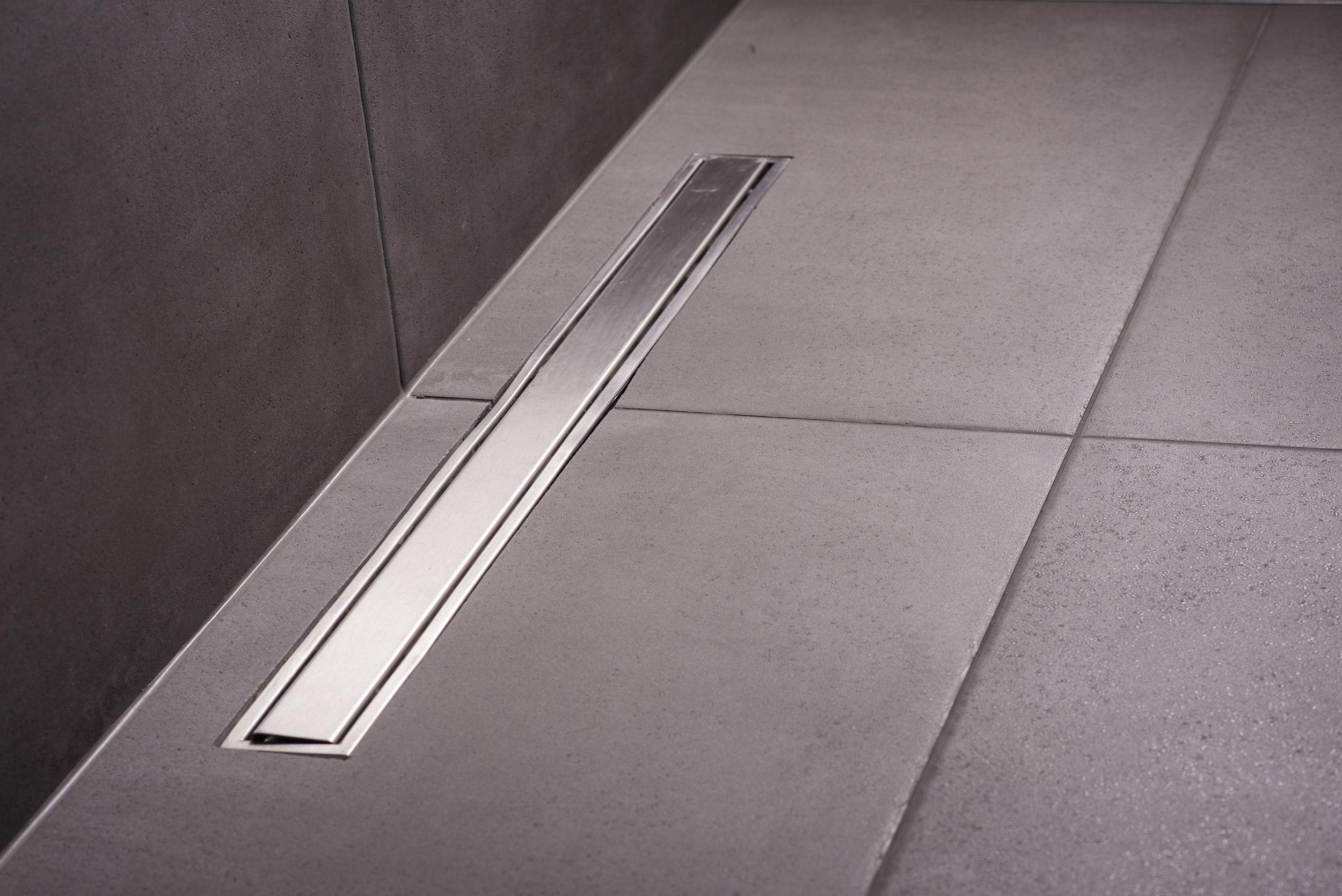 lineare bodenentwässerung für bodengleiche walk-in-duschen - mit