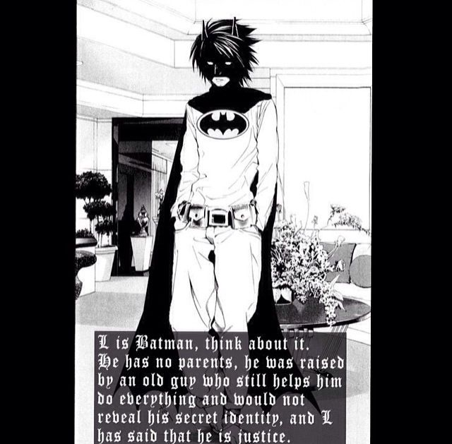 WOOOAH!!! L Lawliet from Death Note<--Watari even reminded me of Alfred when I was watching the show!
