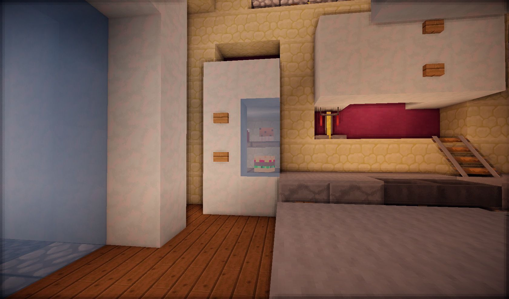 Minecraft best fridge design by retaq | Minecraft furniture ...