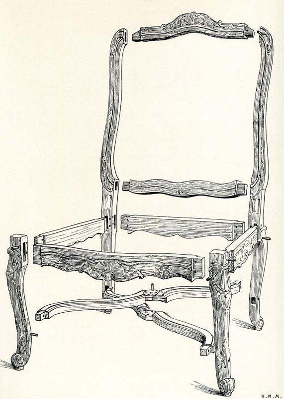reconnaitre un fauteuil du 18 me regard d 39 antiquaire si ge ancien et fauteuils. Black Bedroom Furniture Sets. Home Design Ideas