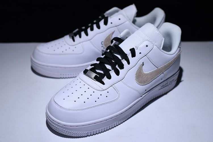 7015bfb0962 OFF-WHITE X Nike Air Force 1 Low white gold