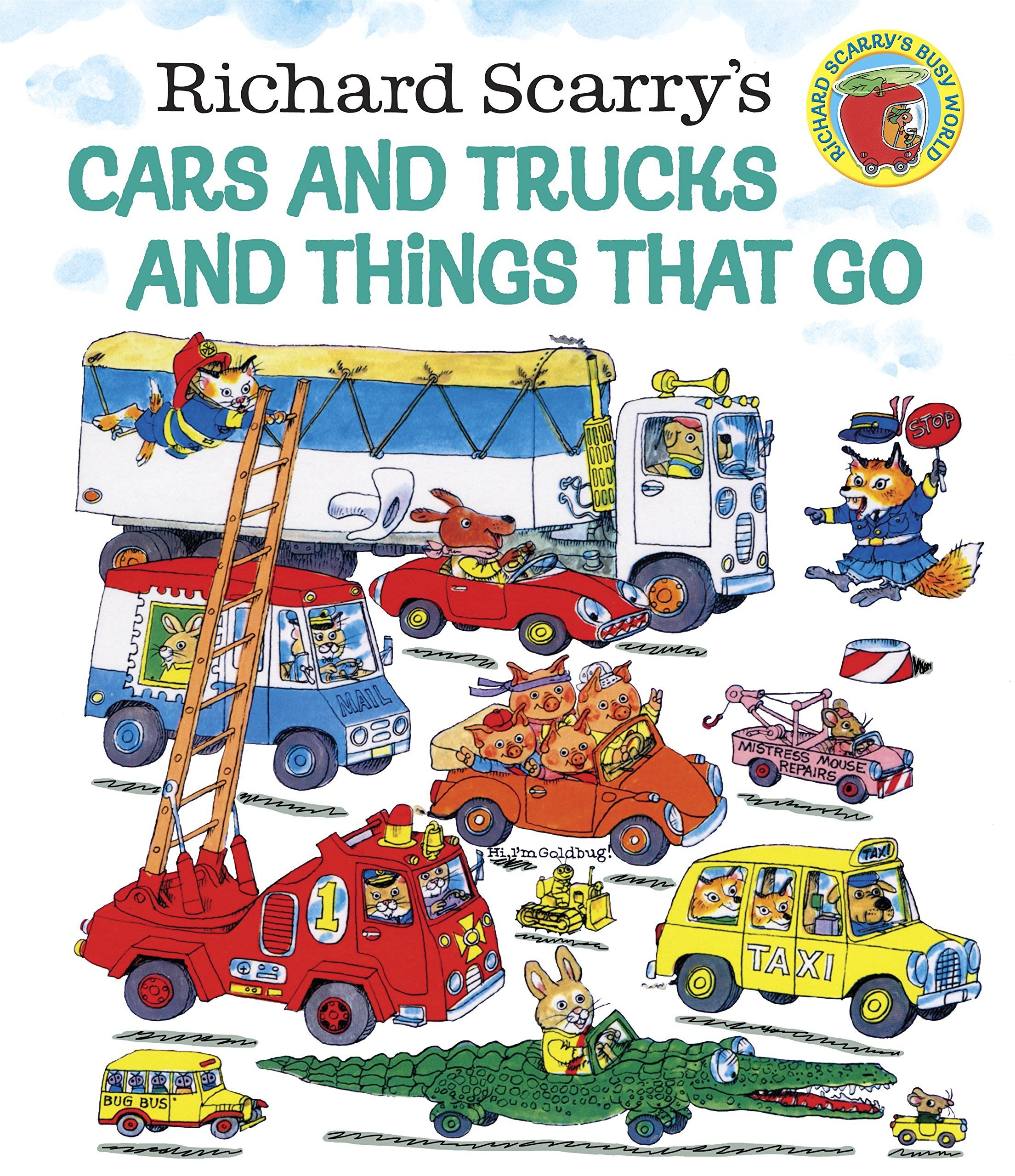 For jacks bday or xmas richard scarry books about