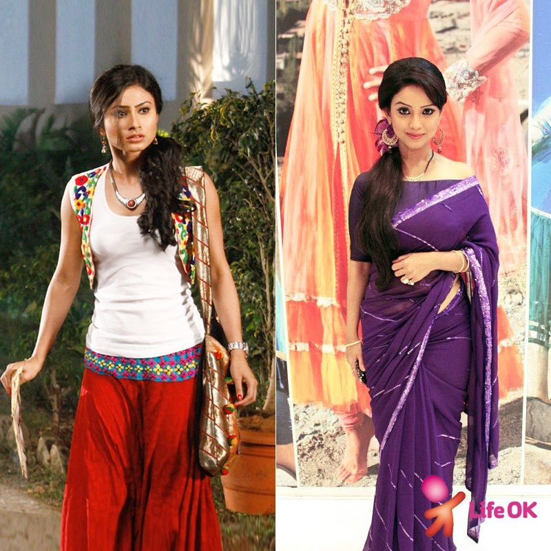 What Do You Prefer Meera S Chic Look Or Amrit S Traditional Look Traditional Looks Tv Shows Online Fashion
