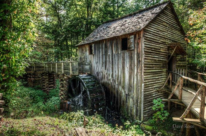 Pin by spectrumdaze on Majestic Old Mills Great smoky