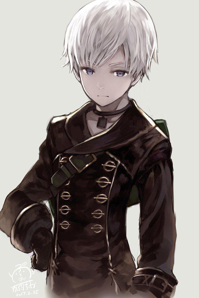 NieR: Automata 9S Kaito, Charakter Kunst, Charakterdesign, Manga  Abbildungen, Anime Männer