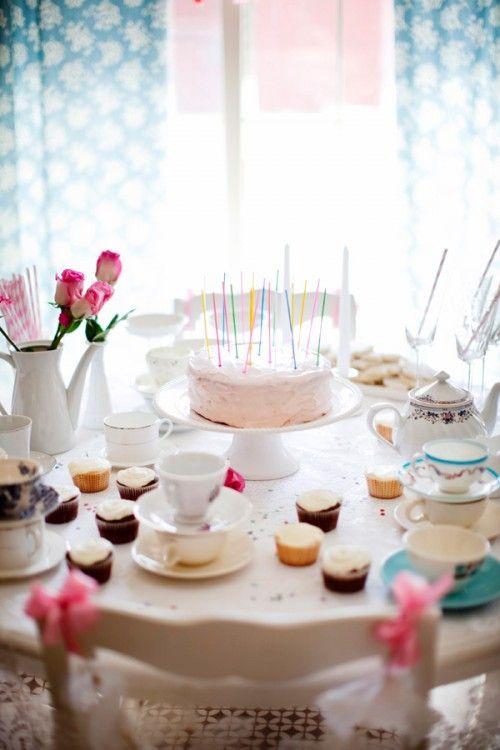 Té de cumpleaños :: Tea party bday.