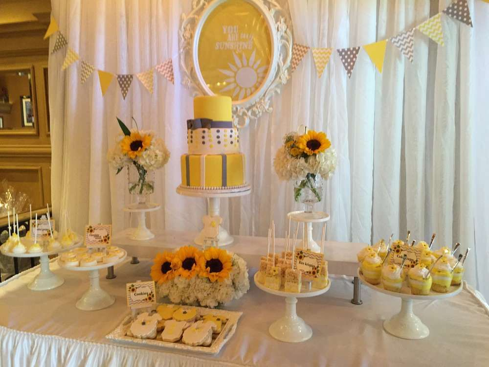 you are my sunshine Baby Shower Party Ideas in 2020