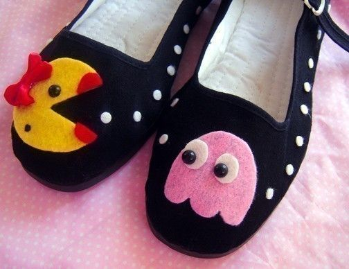 Mrs. Pacman shoes!