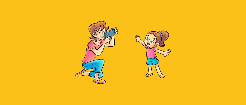 6 dicas para fotografar seu filho como um profissional