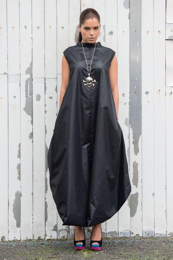 8190288fd416 Sexy Summer Loose Black Kaftan Dress by METAMORPHOZA. Available now on Etsy.