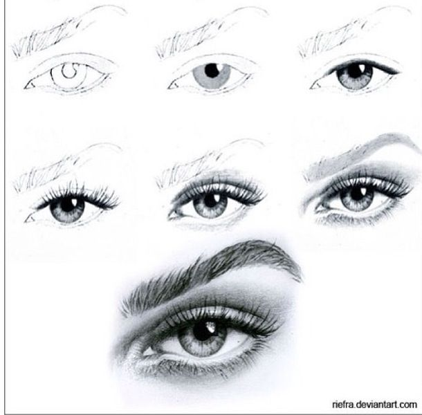 Learn how to draw eyes in a sketch form with the help of this eye drawing