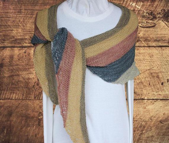 Knitting Pattern For Shawl Using Sock Yarn Or Fine Weight Yarn