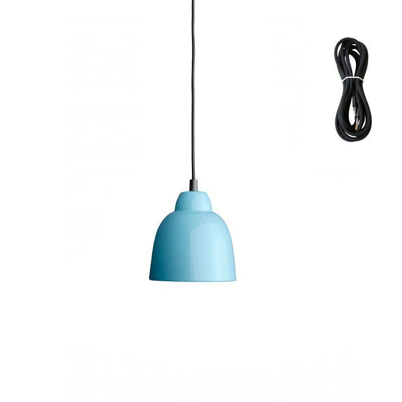 Made By Hand Tulip Hängeleuchte - petroleum blue - Kabelfarbe black - deckenlampen für badezimmer