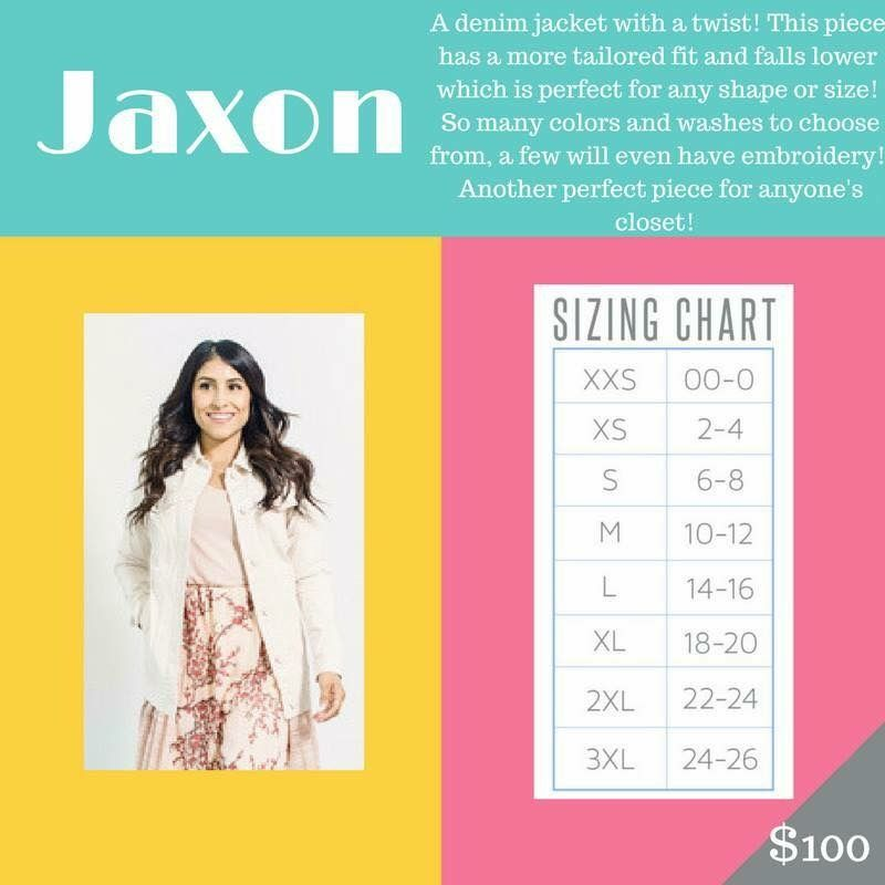 Jaxon Size Chart This Is The Most Amazing Jean Jacket A Forever