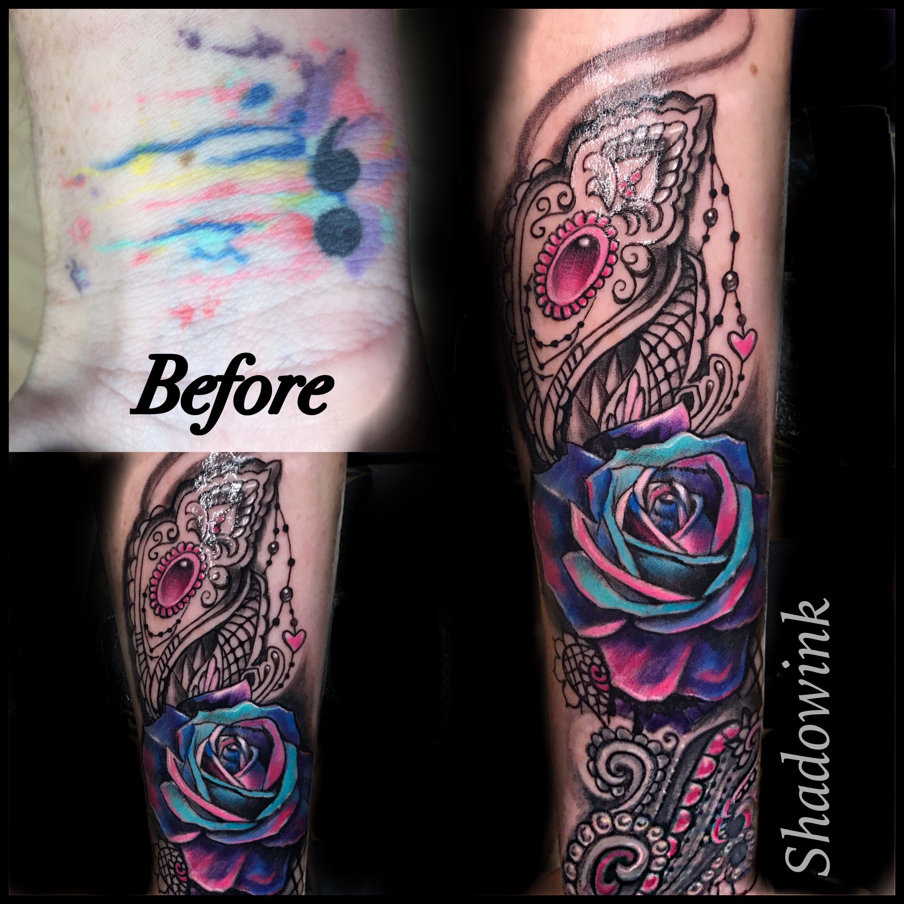 Half Sleeve Forearm Tattoo Designs: Super Happy W This Coverup Turned Half Sleeve!! Inner