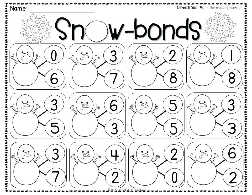 33 Innovative Number Bonds Worksheets Design