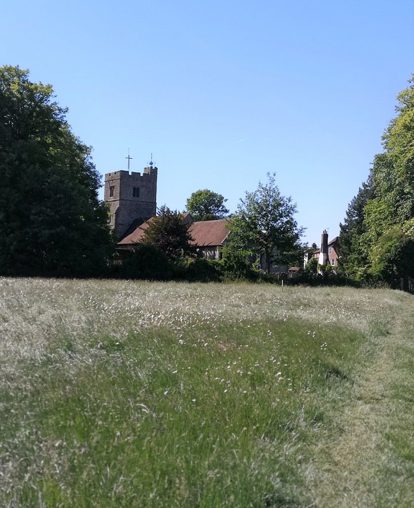 Villages In Kent Egerton & Lenham The Frenchie Mummy
