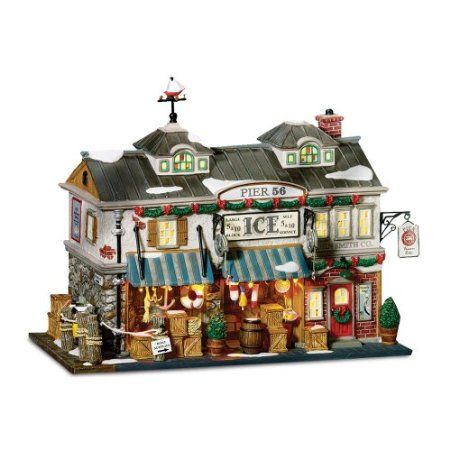 Amazon.com: Department 56 Christmas In The City Pier 56, East Harbor: Home & Kitchen