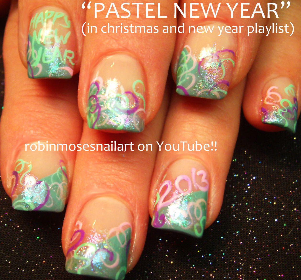 Robin Moses Nail Art: cutest new year nail art, 2014 nail art ...