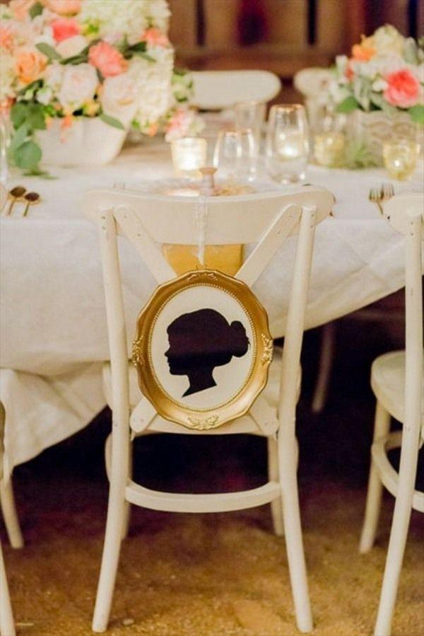 Hochzeit Stuhl Deko Bilderrahmen Deko Gäste Tisch | Hochzeit Domi ...