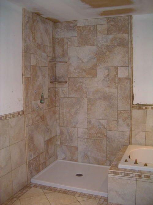 Bathroom Tile Design Patterns Tile Bathroom Shower Design Ideas
