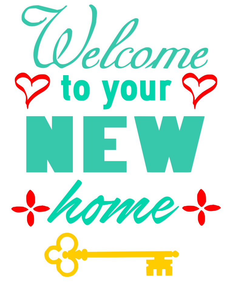 Free to your New Home SVG File